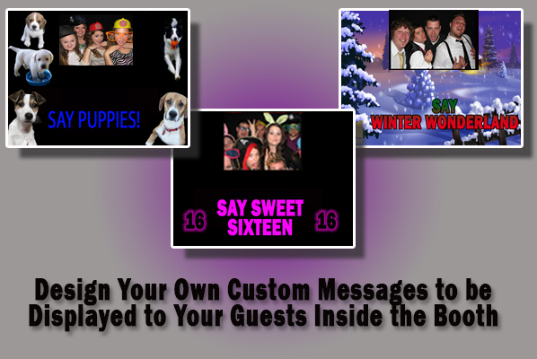 touch screen messages